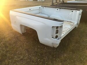 Chevrolet 2014 2018 2500 6 5 White Truck Bed With Tailagte