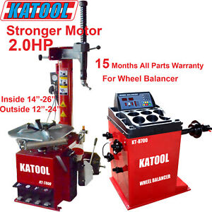 Katool Tire Changer Wheel Balancer Combo 2 0hp Garage Equipment Tire Service