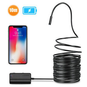 Depstech Wf020x Wireless Endoscope 2 0mp Snake Camera Wifi Inspection Borescope