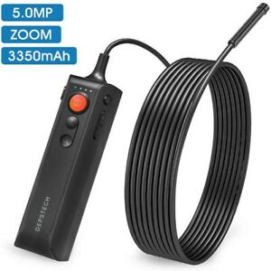 Depstech Wf060 5 0mp Hd Endoscope Zoomable Snake Inspection Camera Borescope