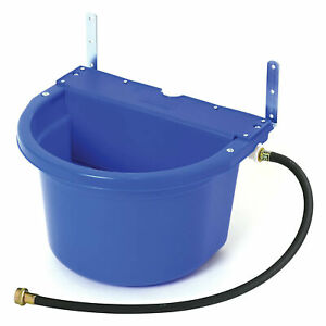 Little Giant Fw16blue 4 Gal Auto Float Controlled Waterer Livestock Water Trough