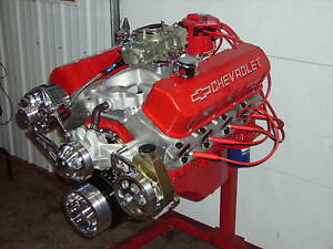 Bbc 496 Stroker Chevy Turn Key Engine Alum Heads 635hp Chevrolet Stroker 502