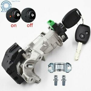 New Ignition Switch Cylinder Lock Auto Trans Kit Fit For 06 11honda Civic Accord