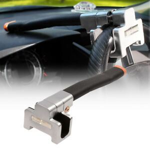 Universal Anti Theft Lock Car Top Mount Steering Wheel Security Device 2 Keys