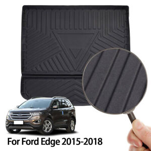 Car Trunk Protector Rear Cargo Liner Floor Mat Cover For Ford Edge 2015 2018 Us