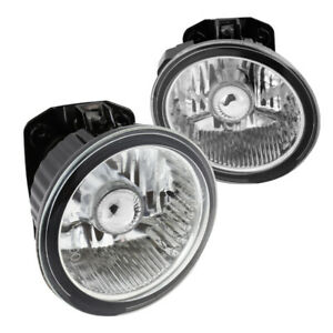 For Nissan 2002 2004 Altima 2003 2005 Murano Front Fog Lights Switch Clear Lens