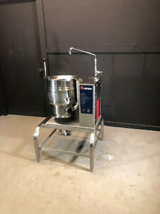 Groen Tdb 20 Tilting Steam Jacketed Kettle Groen Stand 208v 3 phase Electric