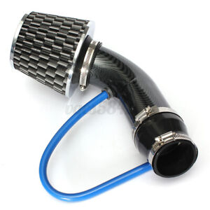Car Cold Air Intake Filter Induction Kit Pipe Power Flow Hose System Universal