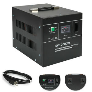 New Automatic Voltage Regulator Svc 3000va Automatic Voltage Stabilizer