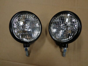 Sealed Beam Front Head Light Lamp For John Deere 320 330 420 430 6 Volt Set Of 2
