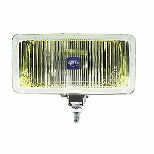 Hella Driving Fog Light Halogen 55 W Rectangular Shape Amber Light 005700421