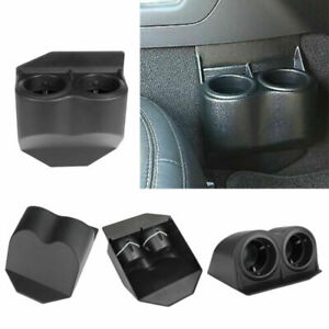 Black Travel Water Auto Dual Cup Holders For Corvette C5 C6 Gmc 1997 2013 Us