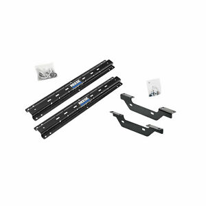 Reese Towpower 56001 53 Fifth Wheel Mounting Rails And Bracket Installation Kit
