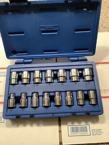 In Great Condition Cornwell Blue Power Set Cbp3m 1 2 Chrome Short Socket Set