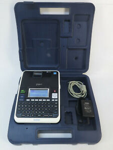 Brother P touch Pt 2730 Label Thermal Printer w Carrying Case