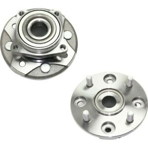 Front Wheel Hubs Bearings Assembly Left Right Pair Set For Honda Accord Cl