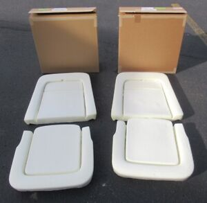 1968 Mustang Shelby New Front Bucket Seat Foam Sets 2 Seats