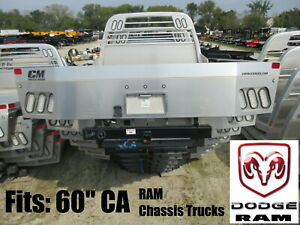 Ram Chassis Trucks Clearance Cm Alrd Aluminum Flatbed Body For 60 Ca Dodge Too