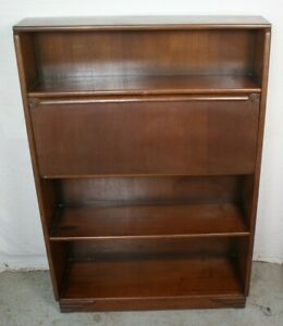 Antique British Bureau Bookcase Bookshelf English Import England Secretary
