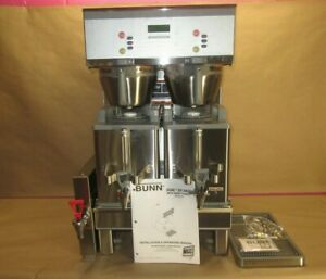 Bunn Dual Sh Dbc Brewwise Dual Satellite Coffee Brewer W smart Funnel Stainless
