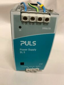 Puls Dc Power Supply Module Sl 5 Sl5 100 24vdc