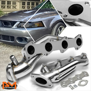 For 96 04 Ford Mustang 4 6 V8 Sohc Stainless Steel Shorty Exhaust Header Gasket