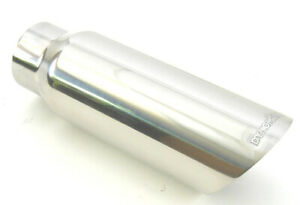 Dynomax 2 5in Slant Exhaust Tip Ss 36486