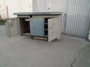 South Bend 10l Heavy 10 Lathe Floor Stand Cabinet Desk