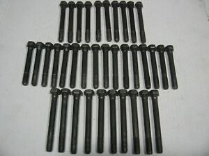 348 409 Set Of Chevy Head Bolts 1958 1959 1960 1961 1962 1963 1964 1965