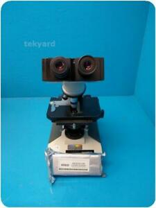 Olympus Bh 2 Laboratory Microscope W Cover Glasses 241054