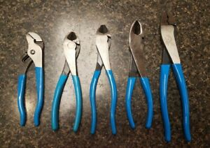 Bundle Of 5 Channellock Pliers And Cutters Free Shipping