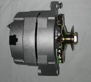 Tractor Or Car 6 Volt 100 Amp 1 Wire Alternator Positive Ground Gm W Pulley