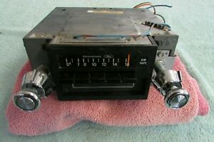 1960 S 70 S Ford Aeronutronic Am 8 Track Tape Car Radio Stereo D6ef 19a242