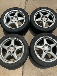 93 02 Camaro Ss Wheels 17x9 Oem With Tires F Body 4th Gen Zr1 Gm Stamped