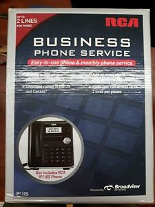 Rca Ip110s Business Class Voip Telephone 2 line