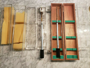 Lot Of Two Jeol Electron Microscope Tem Sample Holders And Carrying Case Set