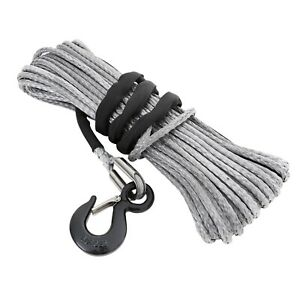 Smittybilt 97780 Xrc Synthetic Winch Rope Rated Line Pull 8000lb 100 Ft
