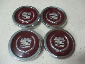 Nos Eom 1981 84 Cadillac Center Caps For 15 Wire Wheel Hubcap X4 Nice
