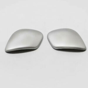 Abs Accessories Matte Inner Gear Shift Knob Cover 2pcs For vw Jetta 2012 2019