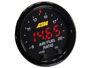 Aem X Series Wideband Gauge Afr O2 Uego Air Fuel Ratio 2 1 16 Aem 30 0300