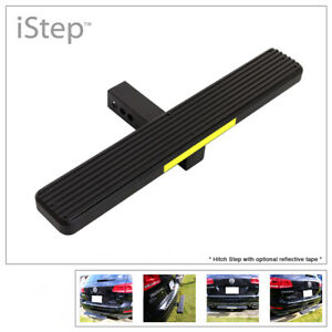 Aluminum Black 26 Inches Rear Trailer Hitch Step For Receiver 2in Tube