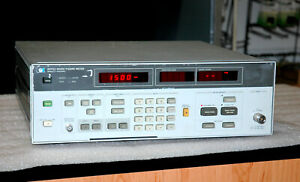 Hewlett Packard 8970a 346b Noise Fifure Meter And Noise Source