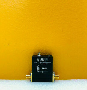 Picosecond Pulse Labs pspl 5580 10 Khz To 15 Ghz Sma f f Bias Tee Tested
