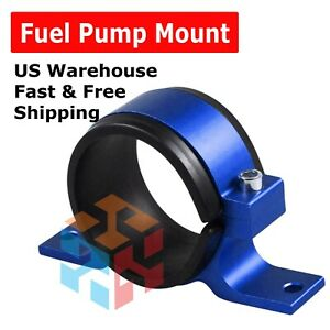 60mm Aluminum Inline Fuel Pump Or Filter Mounting Bracket Mount Clamp Fits Bosch