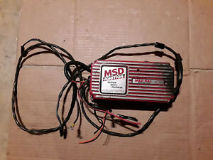 Msd 6al Ignition Spark Box Mustang Cobra Corvette Camaro Trans Am Firebird 5 0l