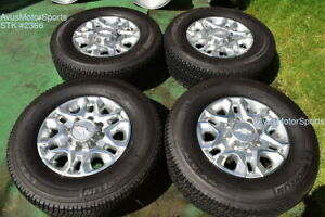 18 Chevy Silverado 2500 3500 Oem Wheels Tires Gmc Sierra 2020 Michelin