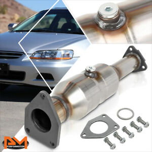 For 98 02 Honda Accord 2 3l Direct Replace Catalytic Converter Exhaust Pipe Set