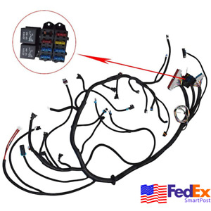 Standalone Cable Harness Swap For 1997 2006 Dbc Ls1 Engine T56 Tran 4 8 5 3 6 0