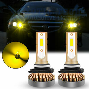 For Acura Tsx Ilx Mdx Subaru Golden Yellow Led High Beam Daytime Running Light