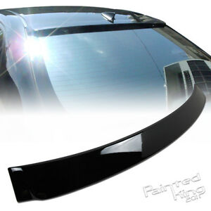 Painted For Toyota Altis Corolla 4dr Rear Roof Spoiler Wing 09 10 12